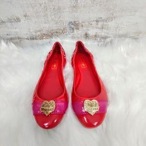🆕 Coach poppy red ballet flats